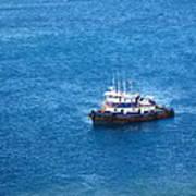 Caribbean Cruise - On Board Ship - 1212137 Art Print
