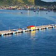 Caribbean Cruise - On Board Ship - 1212152 Art Print