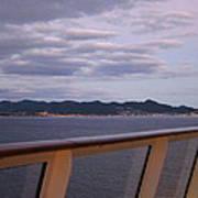 Caribbean Cruise - On Board Ship - 1212207 Art Print