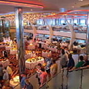 Caribbean Cruise - On Board Ship - 121271 Art Print