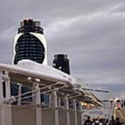 Caribbean Cruise - On Board Ship - 121299 Art Print