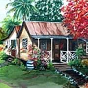 Caribbean Life Art Print