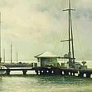 Caribbean Marina-3 Art Print