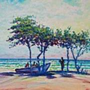 Caribbean Sun Art Print by Joseph   Ruff