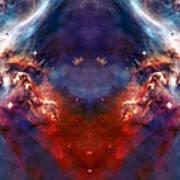 Carina Nebula Pillar 2 Art Print