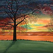 Carla's Sunrise Art Print