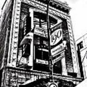 Carlos And Pepe's Montreal Mexican Bar Bw Art Print