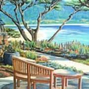 Carmel Lagoon View Art Print