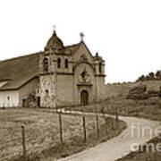 Carmel Mission Monterey Co. California Circa 1890 Art Print