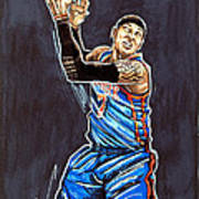 Carmelo Anthony Print by Dave Olsen