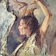 Carmen Amaya Vi Art Print