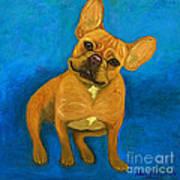 Carmen French Bulldog Art Print