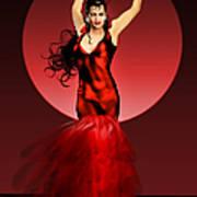 Carmen Amaya Art Print