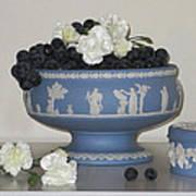 Carnation Grape Togetherness Art Print