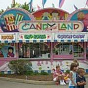 Carnival Candy Land Art Print