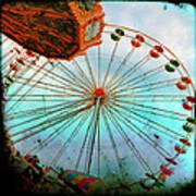 Carnival Colors Art Print