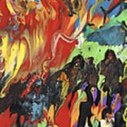 Carnival In Spain Art Print