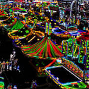 Carnival - Midway West Art Print