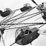 Carnival Ride, 1942 Art Print