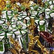 Carnival Rio De Janeiro 14 Art Print