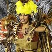 Samba Beauty 2 Art Print