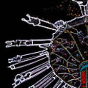 Carnival - Sky Swings Art Print