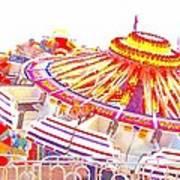 Carnival Sombrero Art Print
