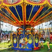 Carnival - Super Swing Ride Art Print