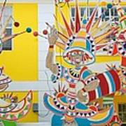 Carnival Time St. Thomas Usvi Art Print