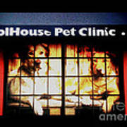 Carol House Quick Fix Pet Clinic Art Print