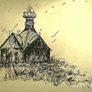 Carolina Farm House Art Print