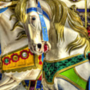 Carousel Charger Art Print
