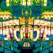 Carousel Convergence Art Print