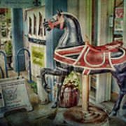 Carousel Hourse Art Print