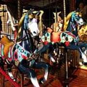 Carousel In Florence Italy Art Print