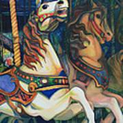 Carousel Art Print