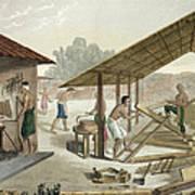 Carpentry Workshop In Kupang, Timor Art Print