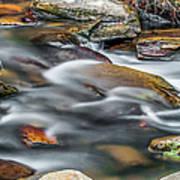 Carreck Creek Cascades Art Print