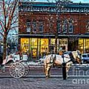 Carriage Ride Art Print by Baywest Imaging