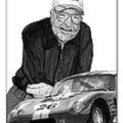 Carroll Shelby    Rest In Peace Art Print