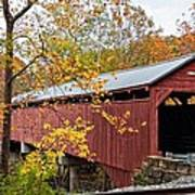Carrollton Covered Bridge Art Print
