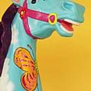 Carrosel Horse Art Print