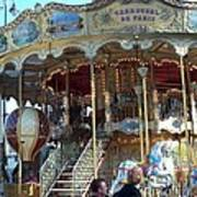 Carrousel De Paris Art Print