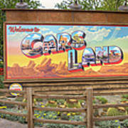 Cars Land Art Print