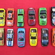Cars On The Wall Art Print