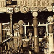Carsland Route 66 Art Print