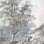 Cart And Horse Art Print
