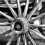 Cart Wheel Art Print