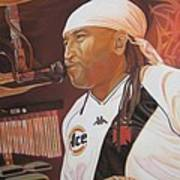Carter Beauford At Red Rocks Art Print