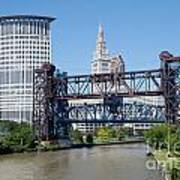 Carter Road Lift Bridge Art Print